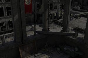 WWII Battle Scene