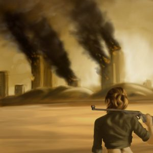 Digital Painting: Wasteland