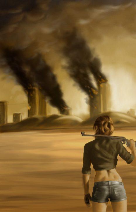 Digital Painting: Wasteland