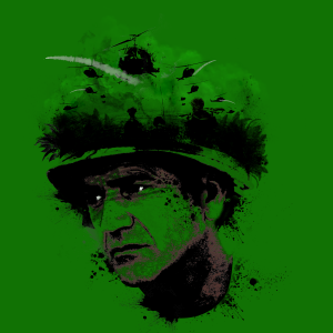 We were soldiers T-Shirt Design